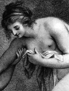 Ф. Бартолоцци. Купающаяся нимфа. 1786