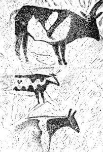 Быки. Живопись. Хоггар, Алжир