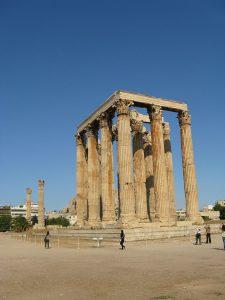 Колонны коринфского ордера Олимпейона в Афинах