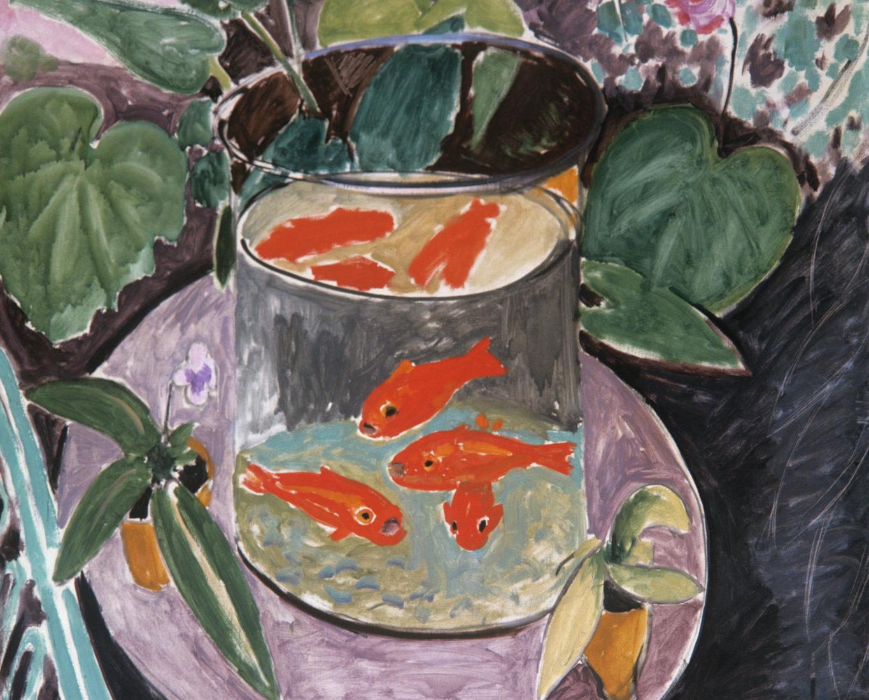 """Красные рыбы"" Анри Матисс. 1912г. Холст, масло."