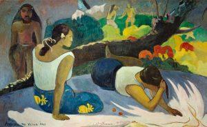 Забава злого духа (1894) Поль Гоген - Новая Глиптотека Карлсберга