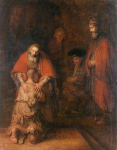 «Возвращение блудного сына» (1666/1669, Эрмитаж) Рембрандт