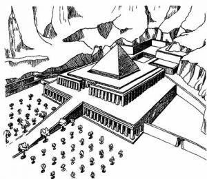 Храм Ментухотепа I (реконструкция)