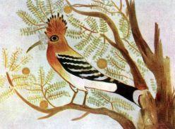 Гробница Хнумхотепа II. Дерево с певчими птицами. Фрагмент