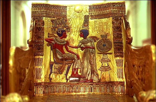 Трон Тутанхамона