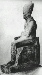 Статуя фараона Хасехема