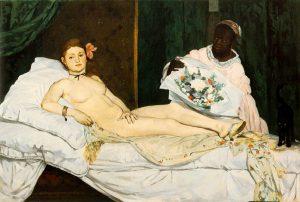«Олимпия», 1863, Музей Орсе, Париж
