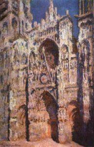 «Руанский собор в солнце», 1894 г., Музей Орсе, Париж
