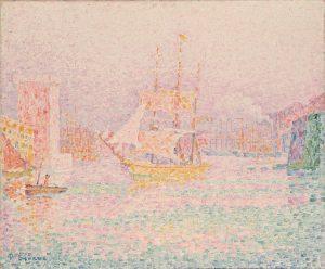 Поль Синьяк, Гавань в Марселе, 1906, Эрмитаж