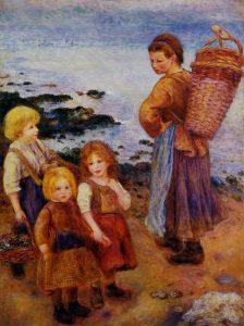 Пьер Огюст Ренуар: Ловец мидий, 1879