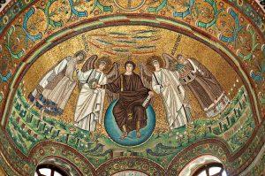 Мозаика церкви Сан-Витале