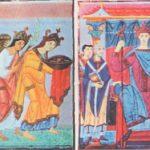 Император Оттон III и страны- данницы. Миниатюры Евангелария Оттона III, ок. 1000 i. Мюнхен, Баварская Государственная библиотека