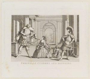 NPG D13888; Farinelli Cuzzoni and Senesino