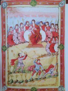 Давид на троне, fol. 93v