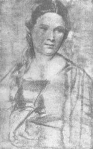 Тициан. Женский портрет. Уголь.