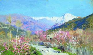 Весна в Италии, 1890
