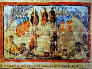 Ватиканский Вергилий Совет троянцев