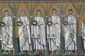 Сан Аполлинаре Нуово Процессия св. мучеников
