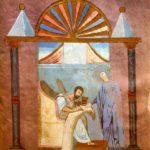 Россано Евангелист с персонификацией Премудрости