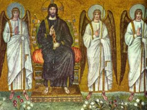 Сан Аполиинаре Нуово Христос на троне