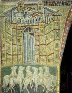 Санта Мария Маджоре Ворота Иерусалима Триумфальная арка