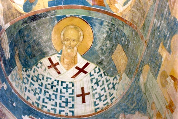 Fresco by Dionisius in the Ferapontov Convent, Russia