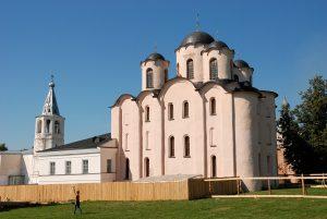 Великий Новгород, собор Николая Чудотворца на Ярославовом дворище.