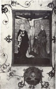 Миссал 1413 года. Фрагмент