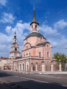 Церковь Святых апостолов Петра и Павла на Новой Басманной. 1705–1723, Москва