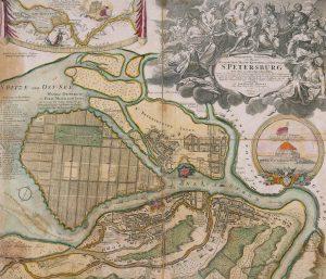 Генеральный план 1716—1717 годов, Доменико Трезини, 1716