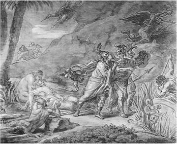 М. И. Козловский. Убальдо и Карло уводят Ринальдо от Армиды. 1792, ГРМ