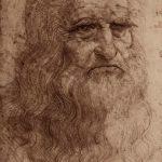 Леонардо да Винчи Автопортрет Около 1512 333 х 214 мм Сангина на бумаге Турин. Королевская библиотека