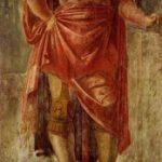 Браманте, Донато Античный воин Около 1477 127 x 285 см Фреска Милан. Пинакотека Брера