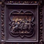 Гиберти, Лоренцо Баптистерий. Деталь северных дверей: Тайная вечеря 1425-1452 39 x 39 см Бронза, позолота Флоренция. Баптистерий