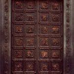 Гиберти, Лоренцо Баптистерий. Северные двери 1404-1424 Бронза, позолота Флоренция. Баптистерий