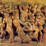 Микеланджело Буонаротти Битва кентавров Около 1490-1492 80,5 x 88 см Мрамор Флоренция. Дом Буонаротти
