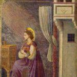 Джотто ди Бондоне. Цикл фресок капеллы Арена [07] в Падуе (капелла Скровеньи). Благовещение Марии (фрагмент). 1304-1306