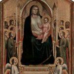 Джотто ди Бондоне. Богоматерь с младенцем на троне. Около 1306-1310
