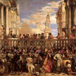 Веронезе, Паоло Брак в Кане 1563 669 x 990 см Холст Париж. Лувр