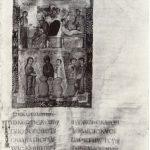 Брак в Кане. Миниатюра. Евангелие. Конец IX - начало Х в.
