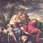 Веронезе, Паоло Венера и Адонис 1580 212 x 191 см Холст, масло Мадрид. Прадо