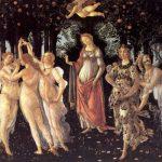 Боттичелли, Сандро Весна (Primavera) Около 1482 203 x 314 см Дерево, темпера Флоренция. Галерея Уффици