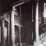 Браманте, Донато Вид на винтовую лестницу Бельведера Ватикан