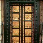 """Гиберти, Лоренцо """"Врата рая"""". Восточные двери 1425-1452 506 x 287 см Бронза, позолота Флоренция. Баптистерий"""