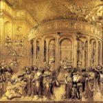 Гиберти, Лоренцо Врата рая. История Иосифа 1425-1452 80 x 80 см Бронза, позолота Флоренция. Баптистерий