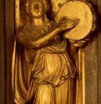 Гиберти, Лоренцо Врата рая. Сивилла 1425 Флоренция. Баптистерий