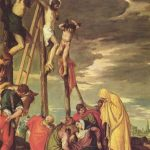 Веронезе, Паоло Голгофа Вторая треть 16 века 102 x 102 см Холст, масло Париж. Лувр