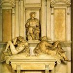 Микеланджело Буонаротти Гробница Джулиано, герцога Немурского 1520 Флоренция