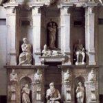 Микеланджело Буонаротти Гробница папы Юлия II 1542-1545 Мрамор Рим. Сан Пьетро ин Винколи