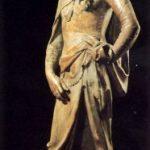 Донателло Давид 1408-1409 Высота: 191 см Мрамор Флоренция. Национальный музей Барджелло